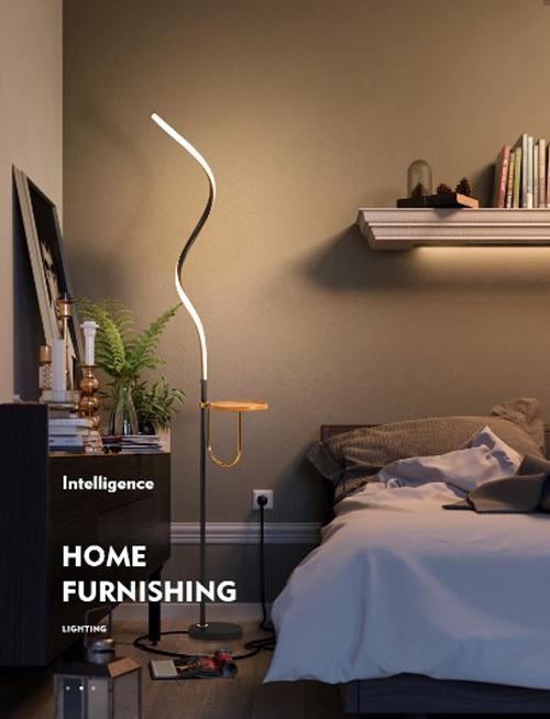 大明照明·落地灯产品:满足局部照明 装饰家居环境