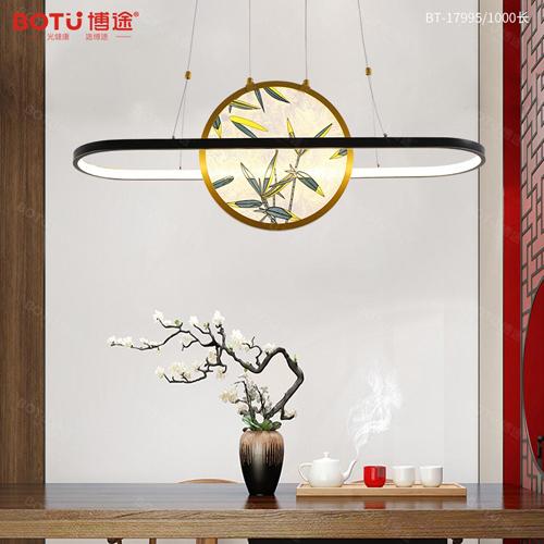 汲取东方意蕴 博途新中式灯饰发出夺目光彩